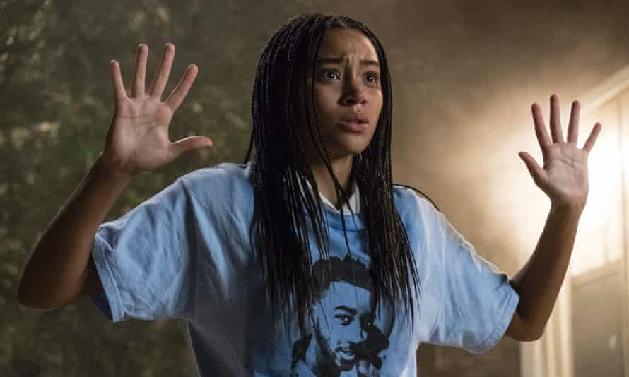 High school horror … Amandla Stenberg in The Hate U Give.