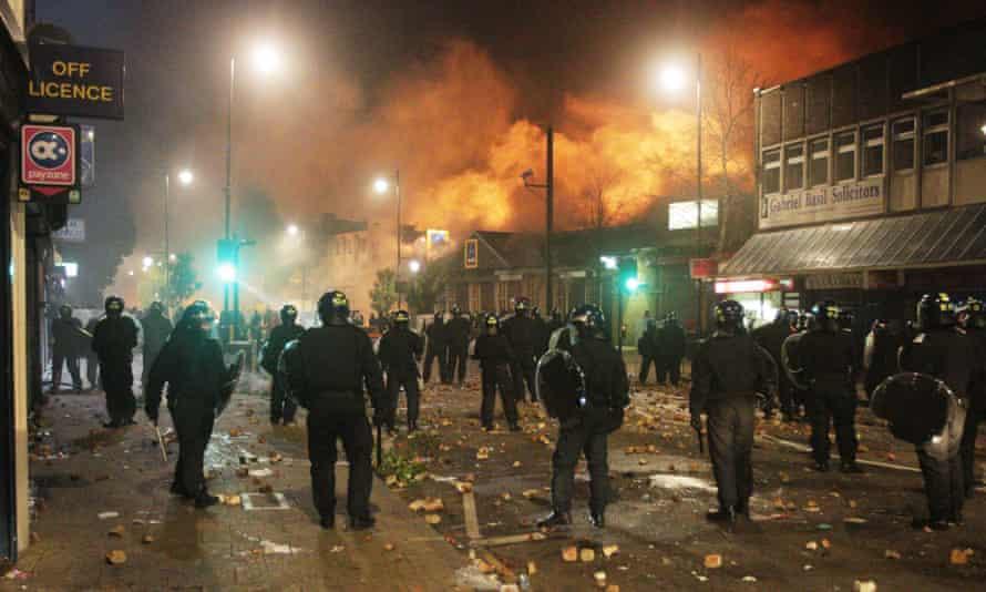 The Tottenham, north London 2011 riots