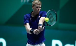 Kyle Edmund was in fine form.