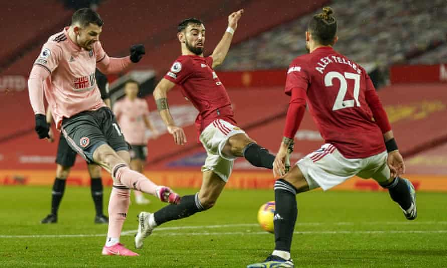 Oliver Burke shocks Manchester United with Sheffield United winner    Premier League   The Guardian