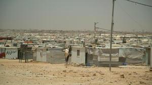 A still from the Australian documentary Border Politics. Zaatari Refugee Camp home to eighty thousand refugees fleeing the Syrian conflict_JORDAN