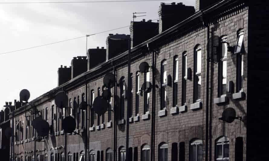 Council houses in Manchester 2006