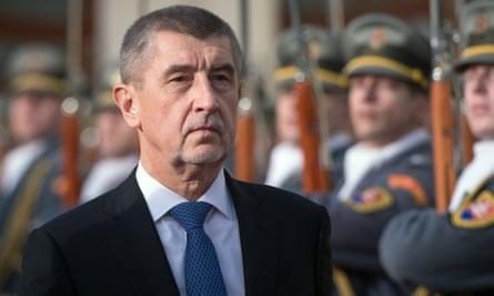 Czech PM Andrej Babiš.