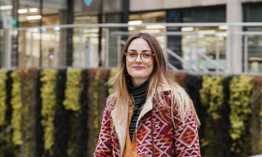 Lucy Carruthers left her job in pharmaceuticals to study environmental modelling.