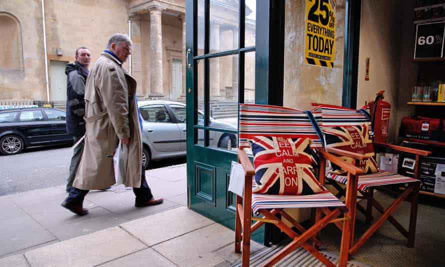 Keeping calm in Chipping Norton, Oxfordshire