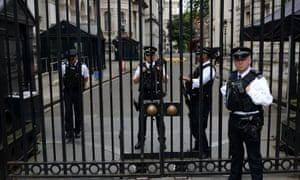 Downing St gates