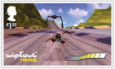 Classic PlayStation racer WipEout – so influential it became a postage stamp.