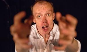 Jordan Brookes performing his comedy show at Pleasance Bunker, Edinburgh fringe festival 2018.