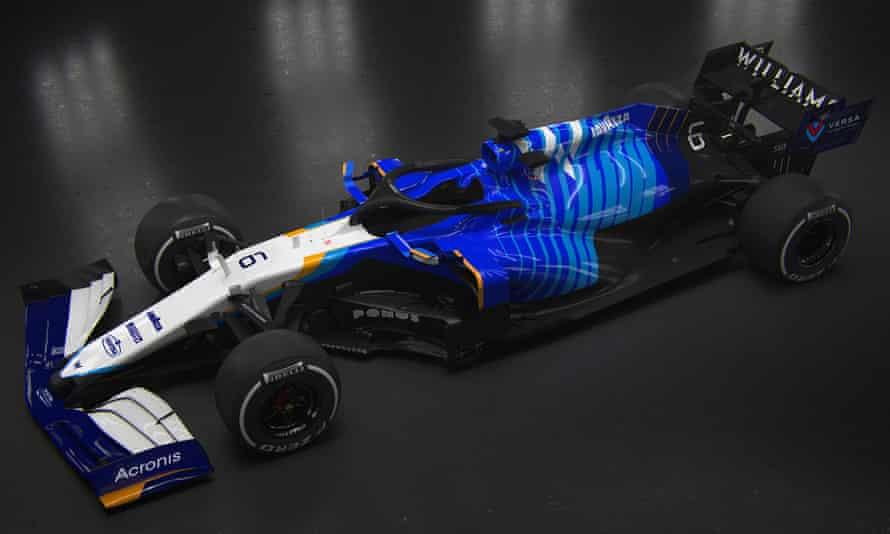 Williams FW43B car F1