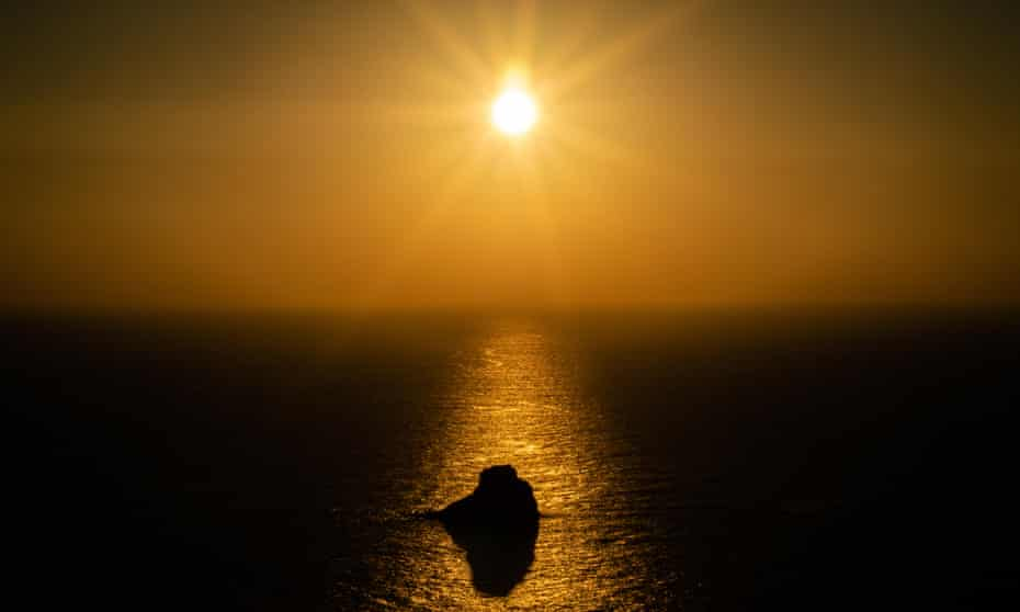 Sunset over Cape Finisterre