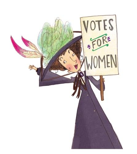 Emmeline Pankhurst, from Fantastically Great Women Who Made History.