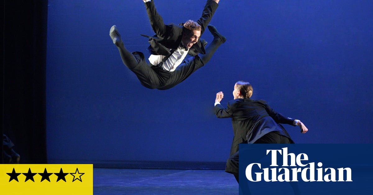 English National Ballet: Reunion review – rubber-band bodies and a rush of energy