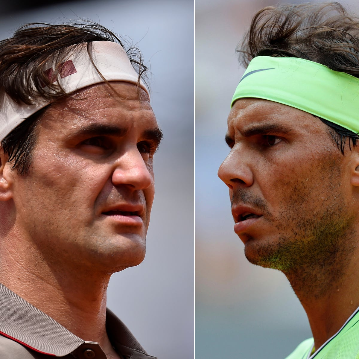 Roger Federer Looks To Defy Daunting Odds Against Old Rival Rafael Nadal French Open The Guardian