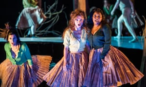 Vuvu Mpofu (right) in Dvořák's Rusalka at Glyndebourne this summer.