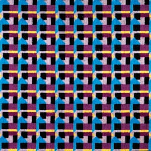 Jubilee line extension seat fabric design