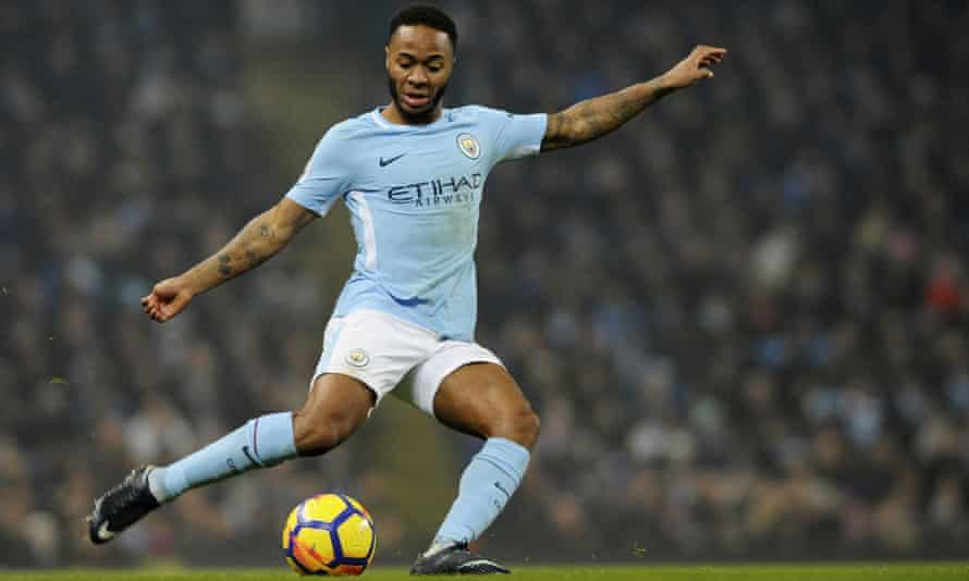 Raheem Sterling scored twice for Manchester City against Tottenham despite the alleged incident earlier that day in Manchester.