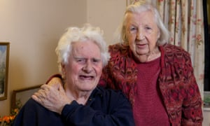 Ken Selway and Joan Neininger at their residential home in Gloucester