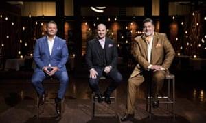 Dynamite ... MasterChef Australia's judges, Gary Mehigan, George Calombaris and Matt Preston
