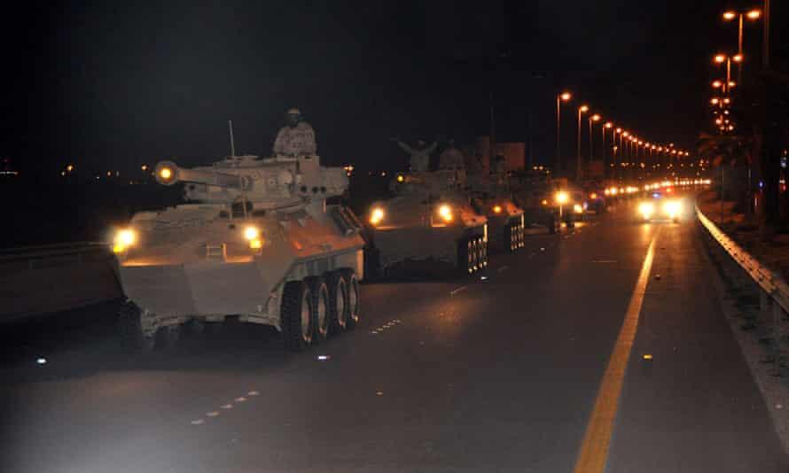 Saudi Arabian troops