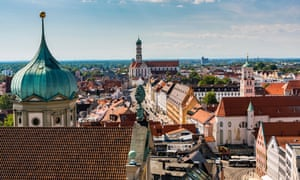The city skyline in Augsburg, Bavaria, where research showed more female council members were crucial to better policymaking.