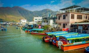 The old fishing village if Tai O