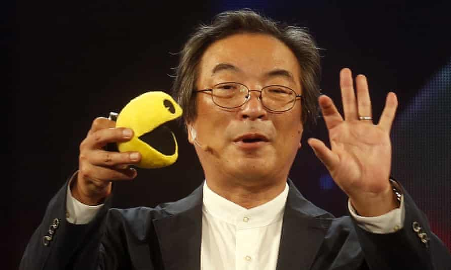 Inspired by pizza … Toru Iwatani, creator of Pac-Man.