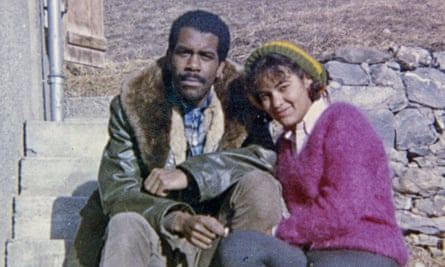 William Melvin Kelley and wife Aiki on a honeymoon trip to Switzerland in December 1963.
