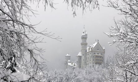 "The ""fairy tale"" castle Neuschwanstein"