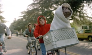 A scene from E.T. the Extra-Terrestrial