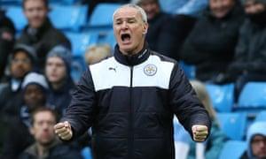 Claudio Ranieri of Leicester