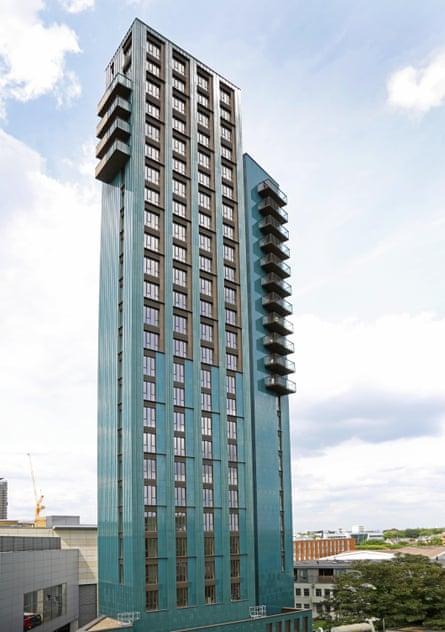 The Mapleton Crescent development in Wandsworth
