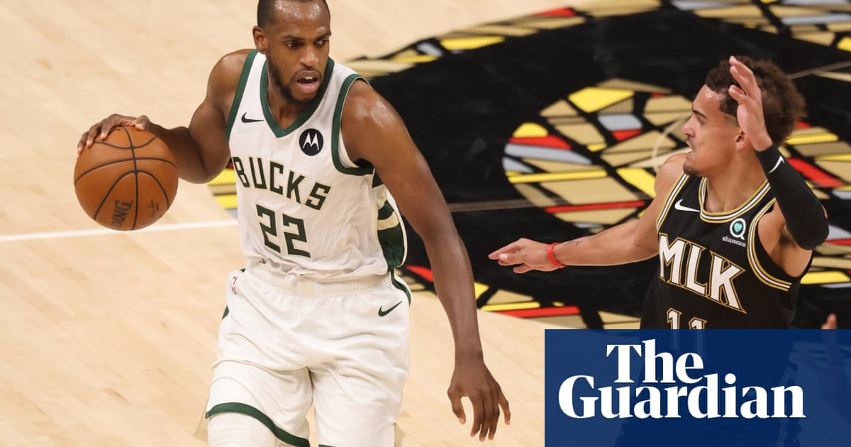 Undermanned Milwaukee Bucks tame Hawks to reach first NBA finals in 47 years