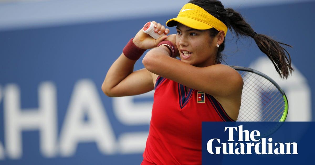 Impressive Raducanu shrugs off late nerves to reach US Open second round