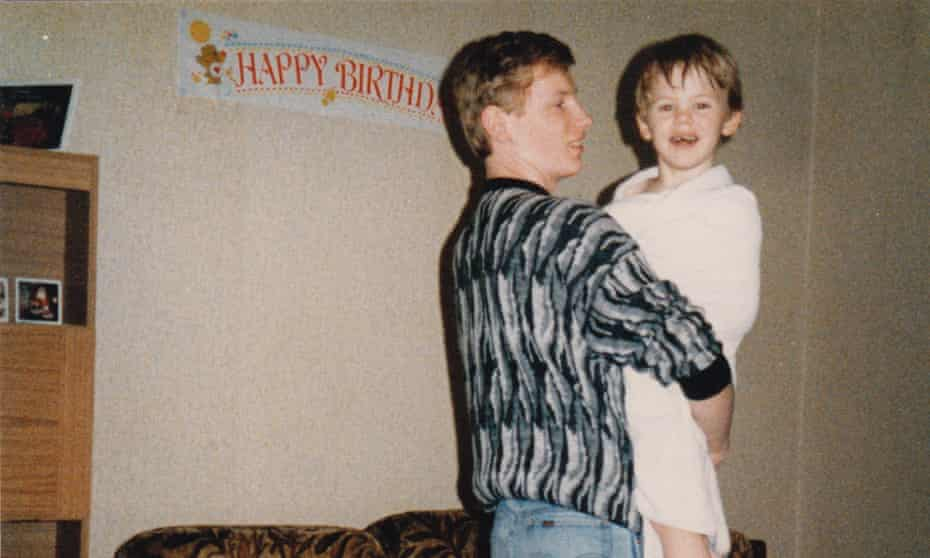 Professor Green as a child with his father