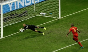 Tim Howard's defining game came against Belgium at the 2014 World Cup