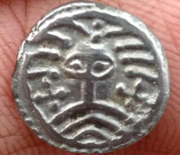 Coin discovered at Ribe.