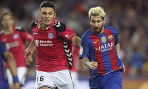 Lionel Messi lost out to Alaves and Diego Torres on the night.