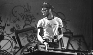 'Hip-hop was the last big subculture': Grandmixer DST, London, 1982.