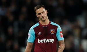 West Ham's Marko Arnautovic walked off to jeers when he was substituted on Friday night
