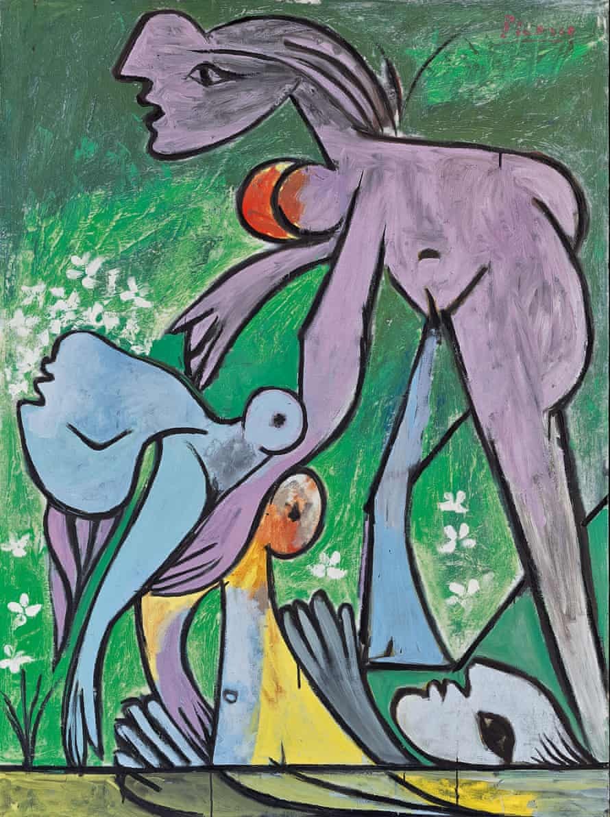 The Rescue, 1932 by Pablo Picasso.