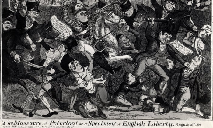 Public re-enactment to mark 200th anniversary of Peterloo