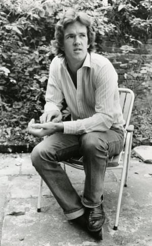 McCrum pictured at home in 1984.