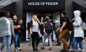 Sports Direct Mike Ashley has agreed 'to keep as many stores open as possible' at House of Fraser.