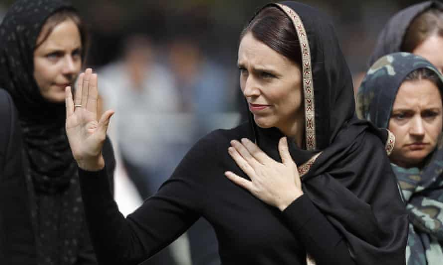 Jacinda Ardern was hailed around the world for her decisive response to the Christchurch mosque shooting