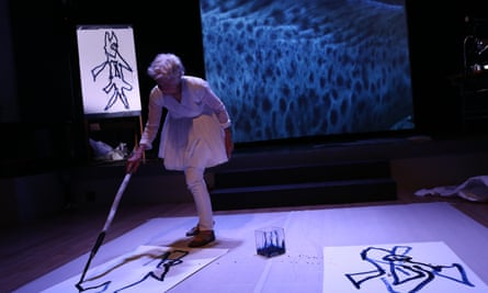 Joan Jonas in her Reanimation performance 2013 … Jonas will appear in the first Art Night London.