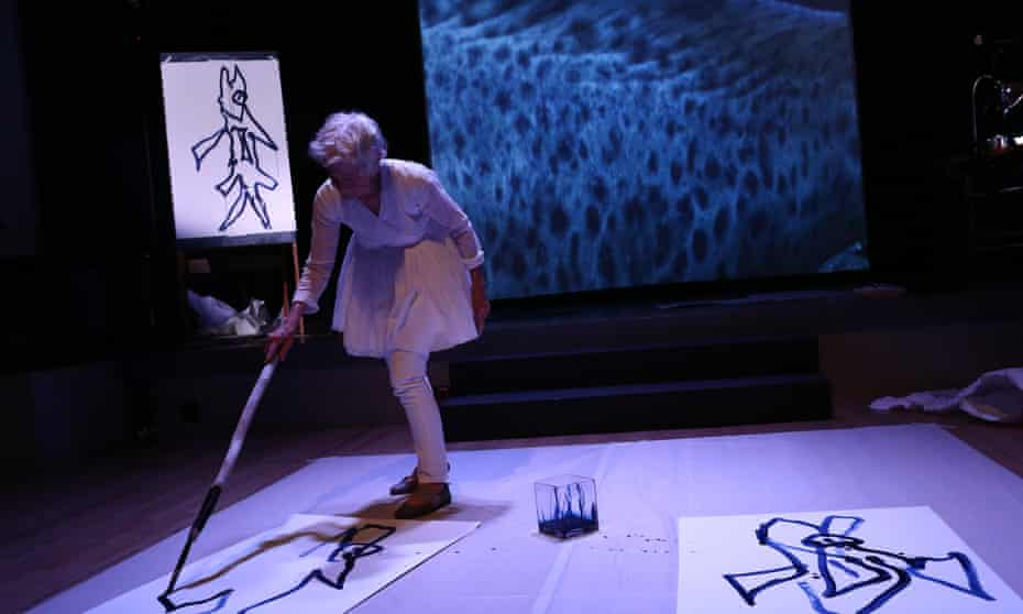 Joan Jonas in her Reanimation performance 2013 … Jonas will appear in the first Art Night London.