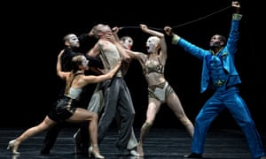 Speechless … Betroffenheit at Sadler's Wells, London.