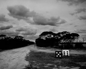 Dice, country road. Western Australia (2011)