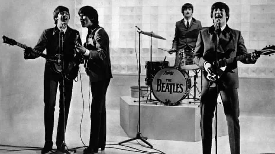 Shaping the future … the Beatles.