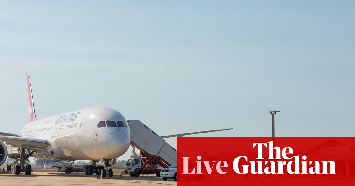 Australia news live: questions over India Covid test results as repatriation flights under way